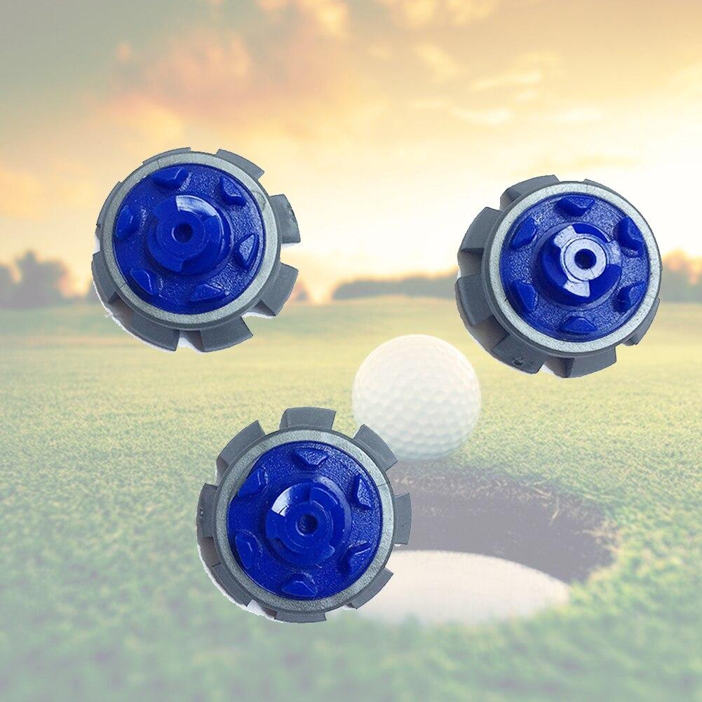 12pcs Golf Spikes Screw Studs Stinger Sports Pins Turn Fast Twist Anti Slip Ultra Thin Accessories Cleats Replacement Rubber