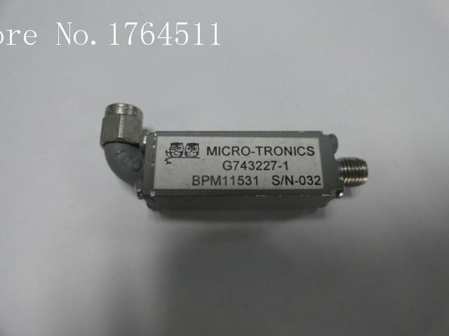 [BELLA] MICRO-TRONICS G743227-1 2.8-3.3GHZ RF Bandpass Filter SMA (F-M)