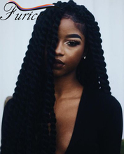 12 14 16 18 20 22 24inch Havana Mambo Twist Crochet Braid Hair Synthetic  Afro Kinky Curly Hair  Queen Hair Products