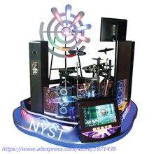 Hot Selling Amusement Equipment Coin Operated Music Jazz ELectronic Simulator Drum Game Machine