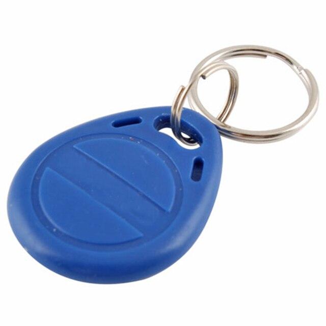 5 pièces 125khz RFID porte clés autocollants carte Tag clé ID porte clés EM4100 porte entrée contrôle daccès EM porte clés jeton