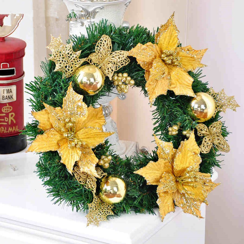 Compare Prices on Blue Christmas Wreaths- Online Shopping/Buy Low ...