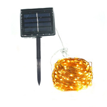 10M 20M Copper Wire Solar LED String Lights Outdoor waterproof Fairy  Holiday Light Garden Decoration Lawn Lamp  Xmas Decoration 10m 15m 20m copper wire solar led string light waterproof wire rope lights outdoor landscape patio garden camping party
