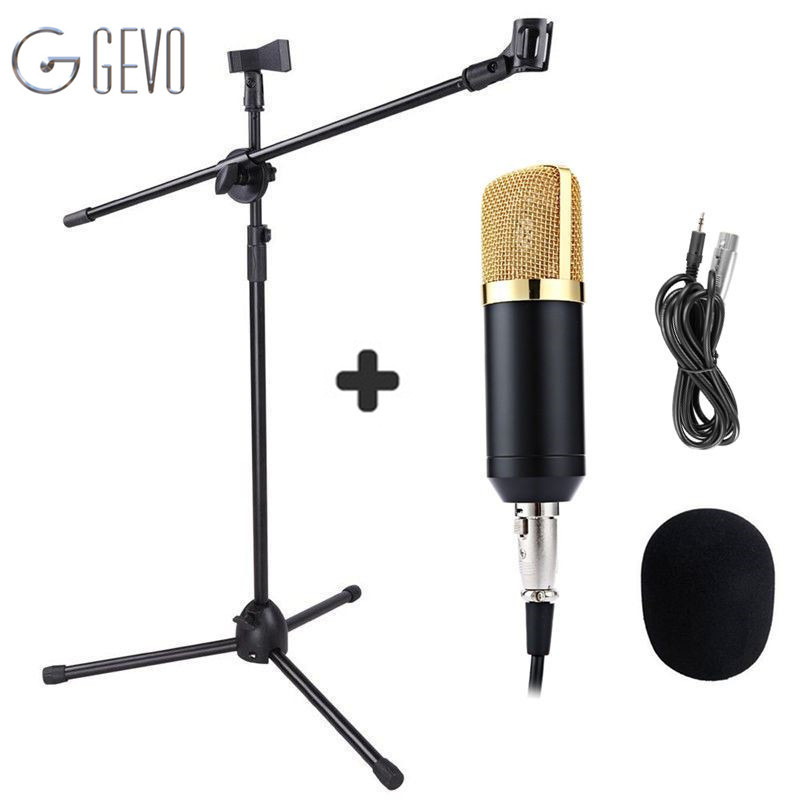 BM 700 Handheld Microphone With NB 107 Microphone Stand professional condenser Microphone BM 700 For Amplifier