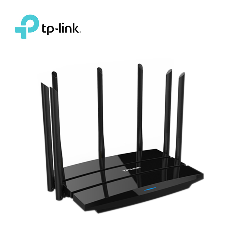 TP-LINK WDR8500 Wireless router Gigabit WiFi Router AC2200 Dual Band with huge wifi wide coverage 7 External Antennas new tp link wdr7400 1750mbps 11ac 6 antenna fast wifi extender wireless dual band router for home computer networking