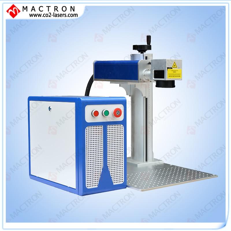 Máquina de marcador láser de fibra de escritorio de fábrica 20w, acero de grabado láser de fibra aprobado por CE