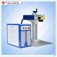 Factory 20w Desktop Fiber Laser Marker Machine , CE Approved Fiber Laser Etching Steel