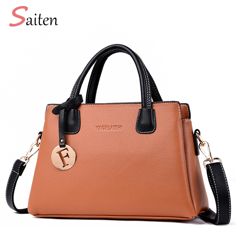 Elegant Shoulder Bag Women Designer Luxury Handbags Bags Plum Bow Sweet Messenger Crossbody For Bolso De Mano