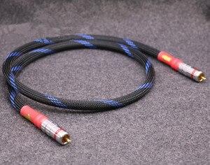 Image 2 - Cable de audio coaxial digital de cobre OFC, alta calidad, CABLE RCA digital hifi 1m