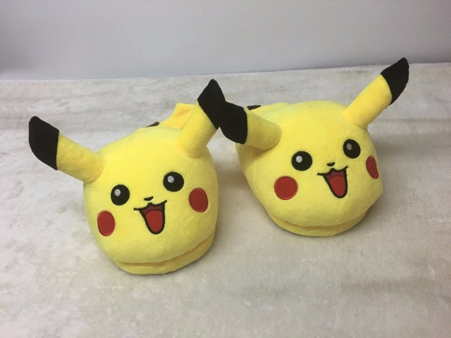 33 73 24 De Réduction Pokemon Pantoufle Maison Amoureux Hommes Famille Drôle Adulte Pantoufle Homme Intérieur Pantoufles Maison Chaussures Pikachu
