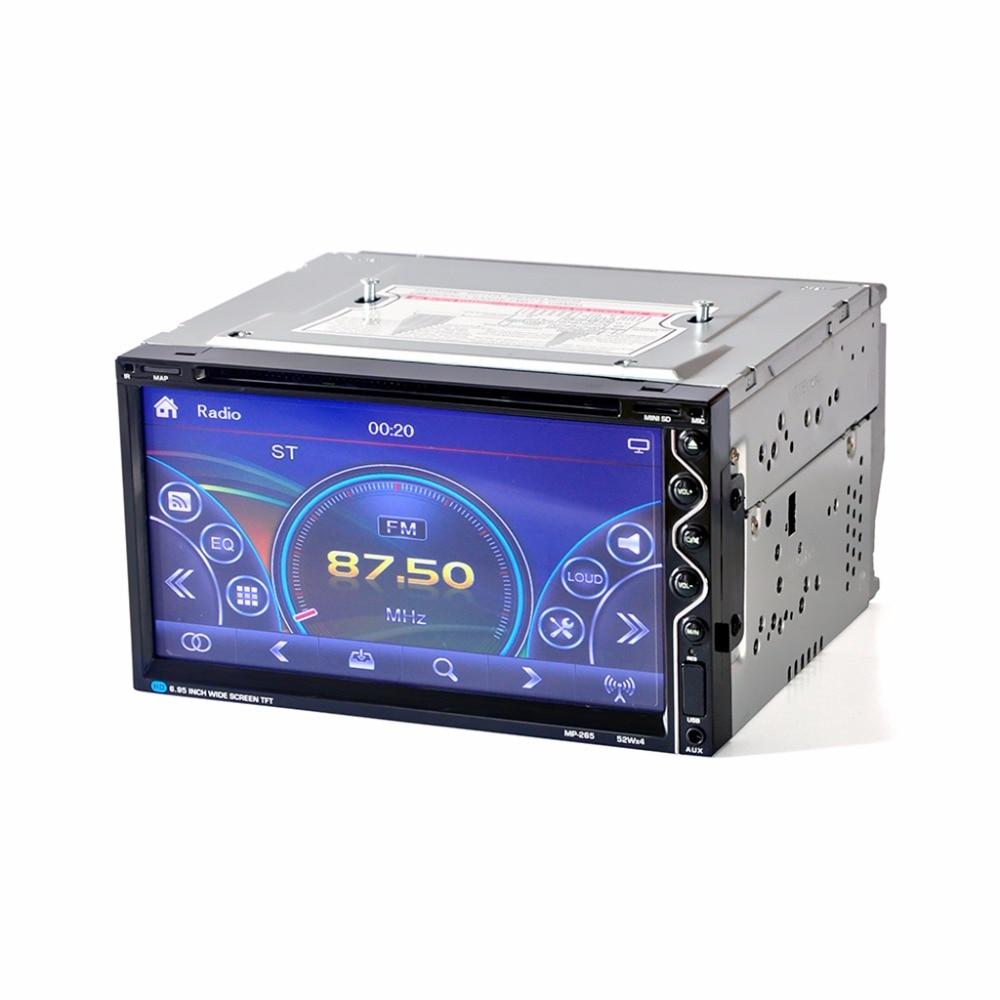 HEVXM 265 6.95 inch Car radio Car multifunction DVD Player Bluetooth Car DVD Player 2 Din Car DVD Player Reversing Priority-in Car Radios from Automobiles & Motorcycles