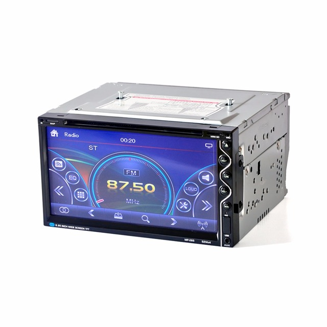 HEVXM 265 6.95 inch Car radio Car multifunction DVD Player Bluetooth Car DVD Player 2 Din Car DVD Player Reversing Priority