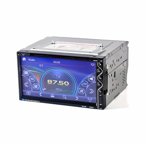 Image 1 - HEVXM 265 6,95 zoll Auto radio Auto multifunktions DVD Player Bluetooth Auto DVD Player 2 Din Auto DVD Player Umkehr priorität
