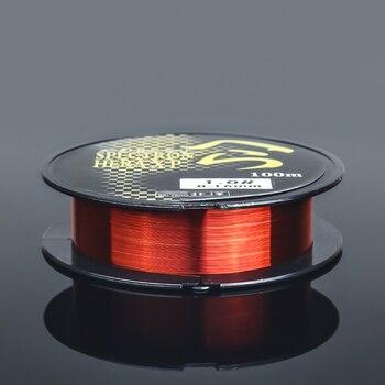 Best No1 Fishing Line Monofilament Nylon Fishing Lines cb5feb1b7314637725a2e7: Red 100m White 100m