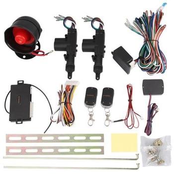 ¡Nuevo! Sensor de presión de neumáticos Dewtreetali de 2 puertas sin llave con bloqueo centralizado Remoto + alarma de coche