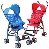 Super Light Small Baby Stroller Portable Sunshade Umbrella Foldable Baby Stroller Car Pram Pushchair Buggy Baby Trolley Brands