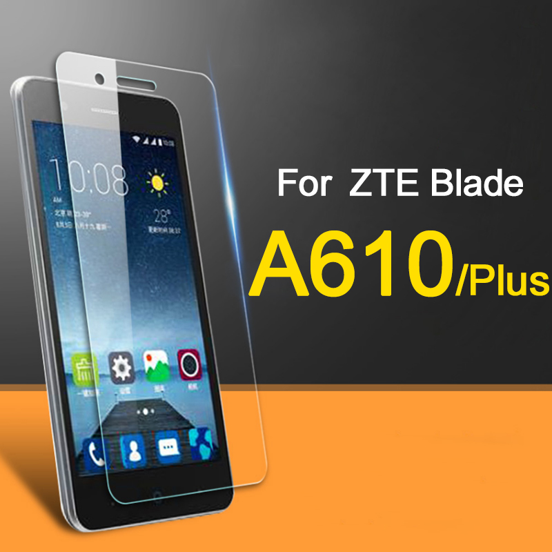 glass on for <font><b>zte</b></font> <font><b>blade</b></font> a610 for <font><b>zte</b></font> a 610 glass tempered Screen Protector Protective glas 2.5D 9 H film 610a a610 plus <font><b>a610plus</b></font> image