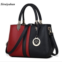 Siruiyahan Fashion Brand Women Messenger Bags Patchwork