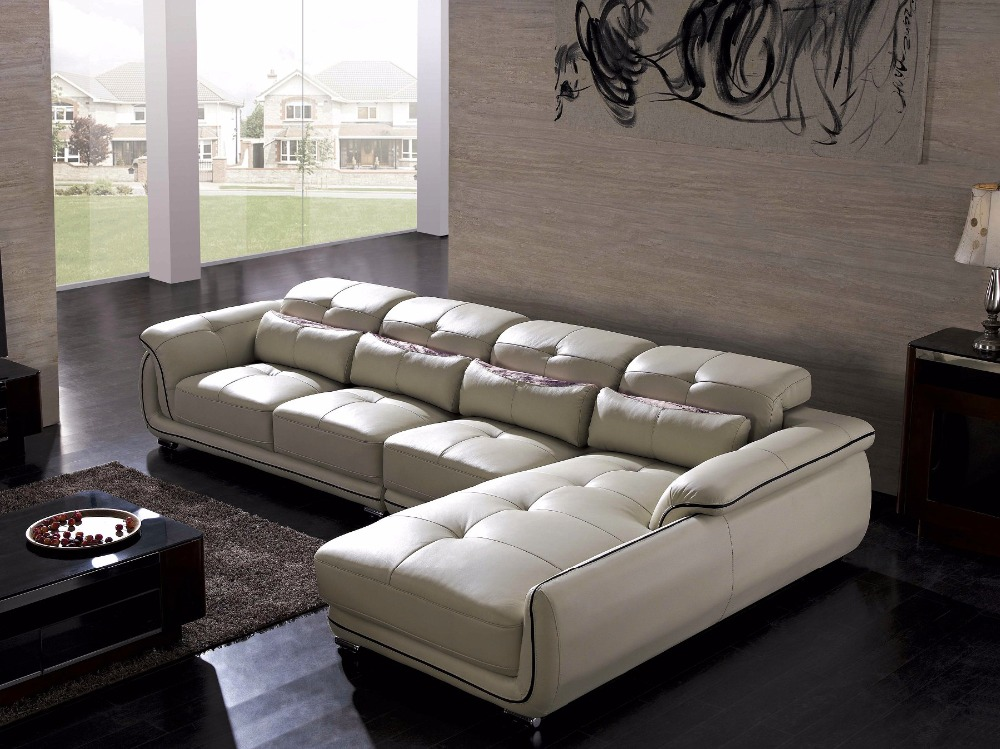Beanbag armchair style modern set chaise bean bag chair for Sofas modernos en l
