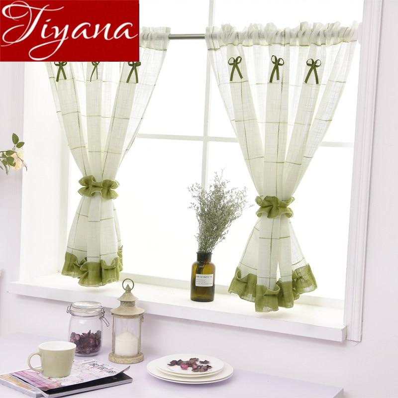 Aliexpress.com : Buy Geen Curtains Kitchen Cabinet Curtain