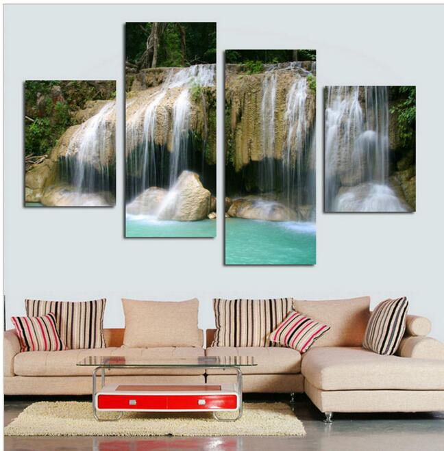 Cheap Modern: Large Canvas Home Decoration Wall Pictures For Living Room