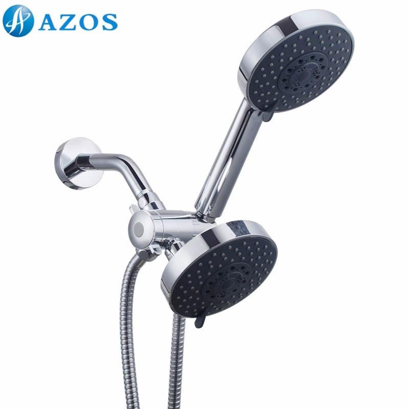 Bathroom 5 Function Handheld & Rainfall Wall Mounted Fixed Shower ...