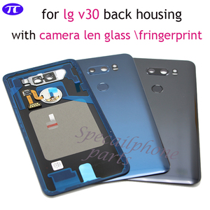 Image 1 - Back Cover for LG v30+/v30 Rear Housing Door Battery Cover for VS996 LS998U H933 LS998U H930 back housing with camera lens glass
