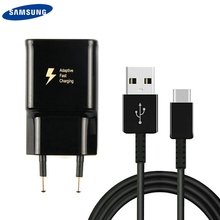 Original SAMSUNG Fast Charge Wall Charger For Samsung GALAXY S8 S9 S10 S10Plus S10E A3/A5/A7/A8/A9 C5 C9 Note8 Note9 USB Type-C