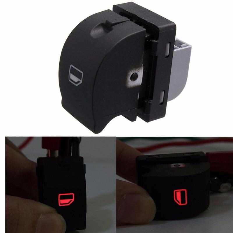 Black Auto Car Window Panel Master Switch Press for Skoda 1Z0 959 858B Hot FO1