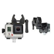 Новый sportman крепление Применение для GoPro Hero 1 2 3 3 плюс Охота Стрельба стрелка подходит полюса Диаметр 10 -25 мм VHA17 T0.11