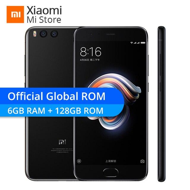 """Xiao mi Note 3 Note3 6 ГБ 128 ГБ Встроенная память мобильного телефона Snapdragon 660 Octa Core 16MP украсить Камера 5,5 """"Официальный Глобальный rom-файл mi UI 9"""