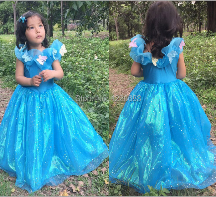 hot sale fantasia vestidos de festa cinderella infant party dress roupa infantil menina robe la. Black Bedroom Furniture Sets. Home Design Ideas