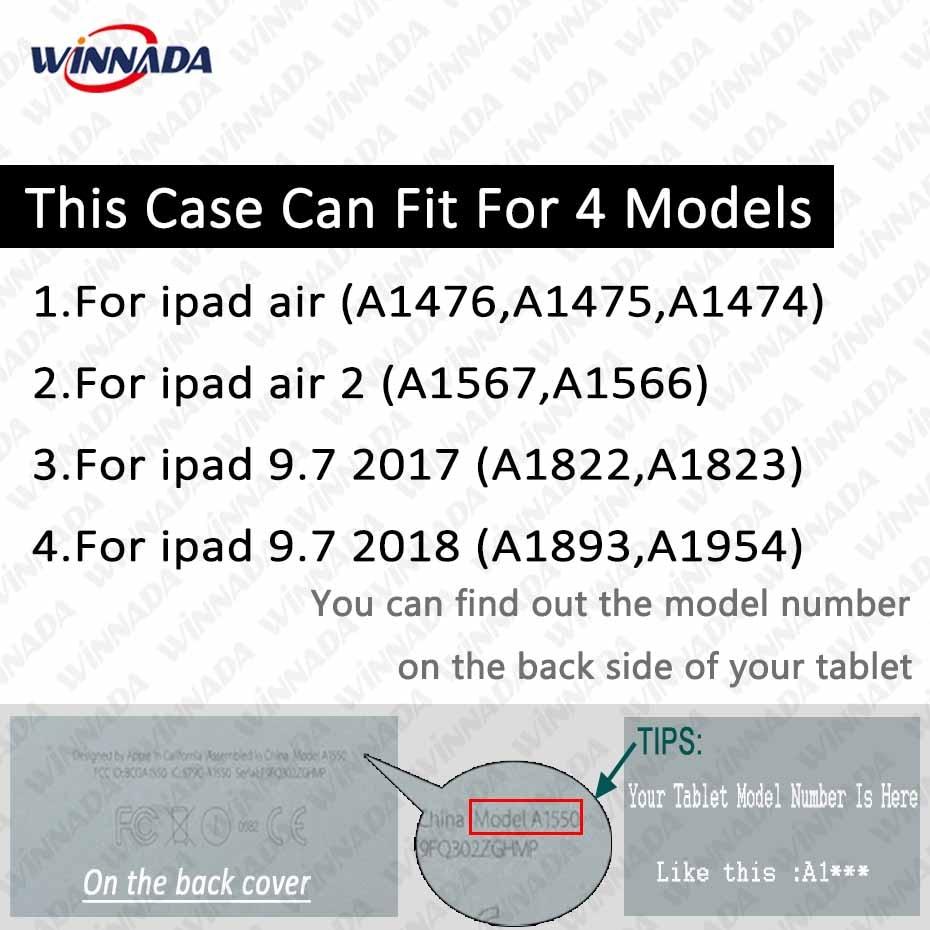 IPad-ауа / ауа үшін корпусы 2 9.7 дюйм - Планшеттік керек-жарақтар - фото 2