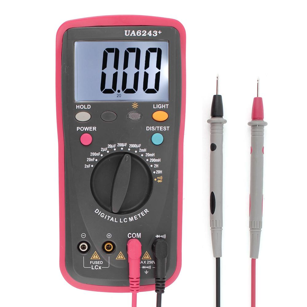 Walmart Digital Multimeter : High precision lc meter inductor capacitance nf uf
