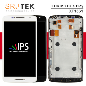 Srjtek Dello Schermo Per Motorola Moto X Gioco Display Touch Screen Digitizer Assemblea Completa Con Telaio XT1561 LCD XT1561 XT1562 XT1563