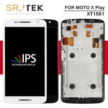 Srjtek Dello Schermo Per Motorola X Gioco Display Assemblea di Tocco Digitale Dello Schermo di Frame Per Moto X Gioco XT1561 LCD XT1561 XT1562 XT1563