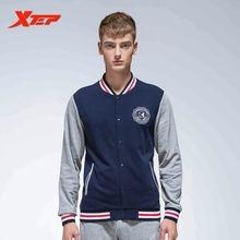 ХTEP мужские спортивные молнии куртка с капюшоном Мужской Бейсбол куртки с длинными рукавами Атлетический бег Sportswears пальто 884329349039
