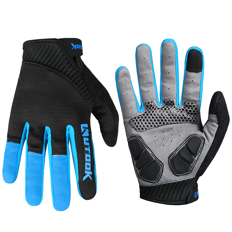 Touch Screen Cycling Gloves Sport Gloves Full Finger Men's Bike Gloves Women Bicycle MTB Riding bycicle  Tactical Gloves KF401