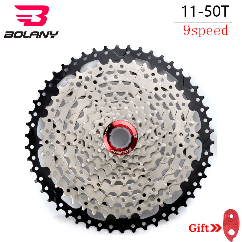 Bolany MTB Freewheel 11 50T Mountain Bikes Cassette 9 18 27 Speed Bicycle Sprockets Accessories
