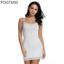 Lingerie Sexy Erotic Dress Women Lace Mini Babydoll Chemise Sleepwear Nightwear Gown Full Slip Sex Costume Porn Underwear White
