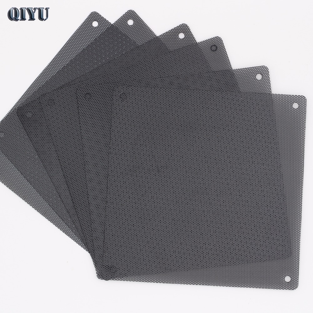 Fan Guard 6pcs 14cm PVC Ventilation Dust Net Dust Cover Case Fans Anti-dust Mesh Filter