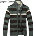 Men's Cotton Mens sweaters Winter Autumn men Cardigan Brand Overcoat New Sweater Army Green Size M-3XL 5 Color 85