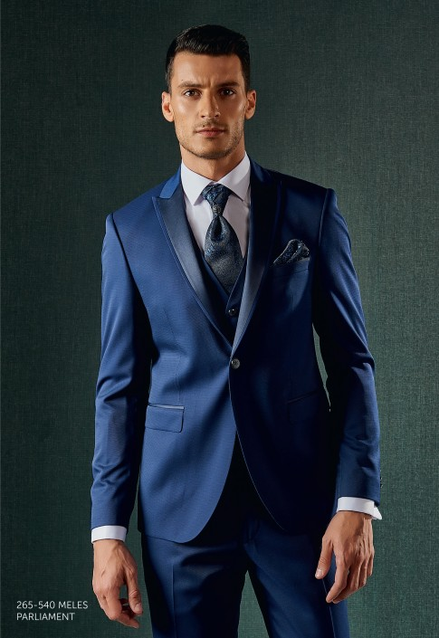 Navy Blue Party Suit by Armani