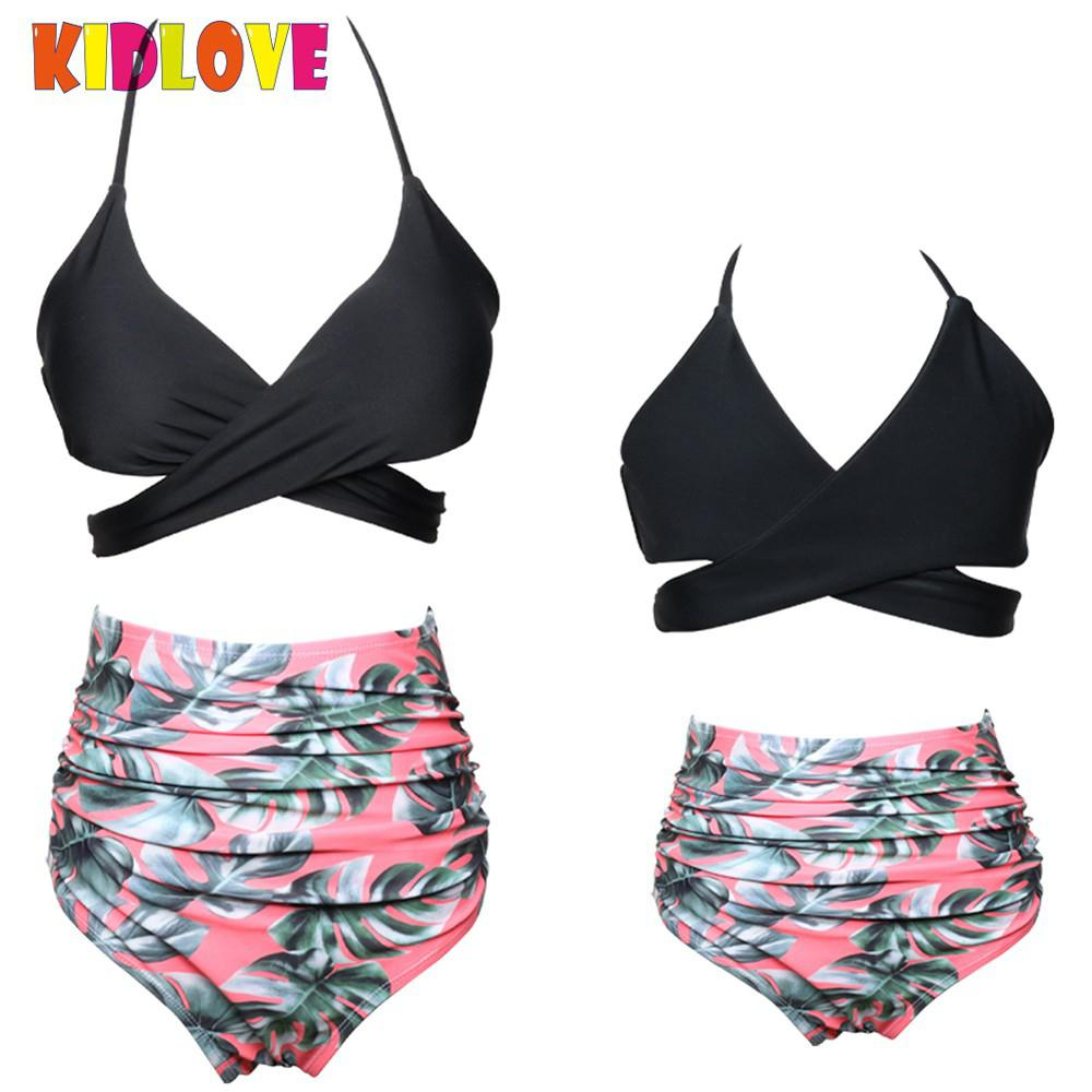 Swimwear Selfless New Girl Summer Suit Tassel Sling Print Swimsuit Three-piece Summer Girl Three-piece Swimsuit
