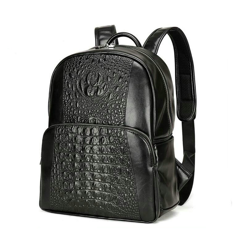The new 2017 backpack crocodile grain to Europe and the United States institute of ms Genuine Leather backpack bag men wind europe and the united states popular bar chairs wholesale and retail australian fashion coffee stool free shipping