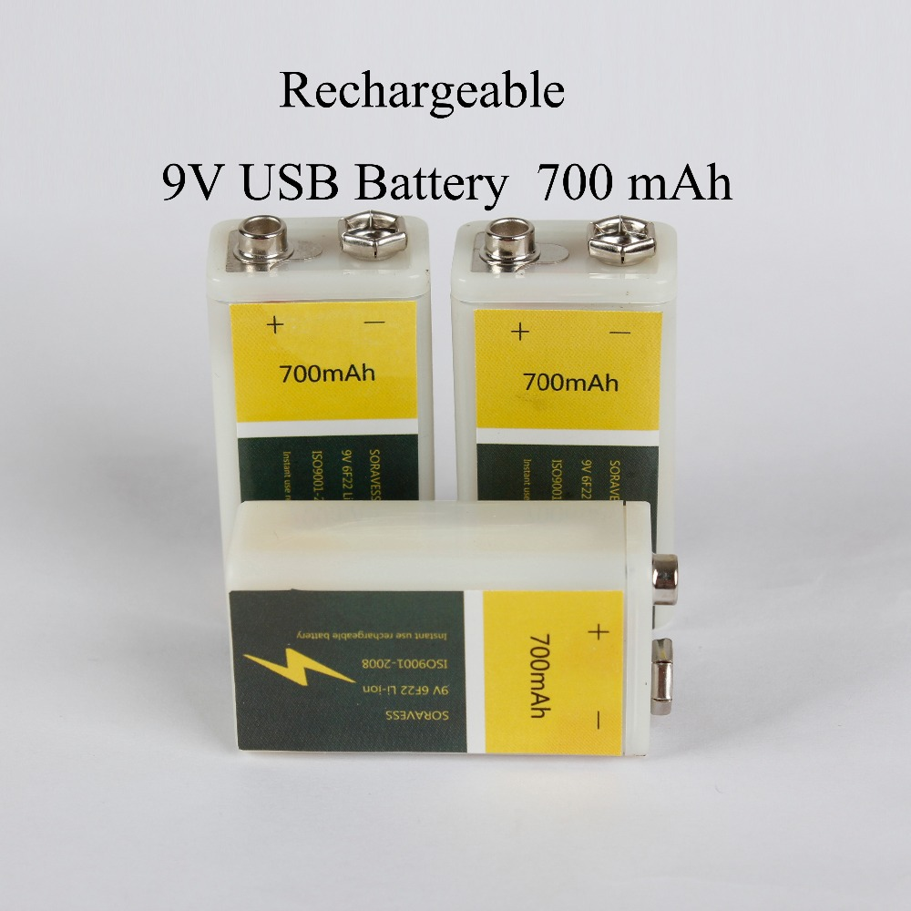Buy 9v Li Ion Lithium Rechargeable And Get Free Shipping On