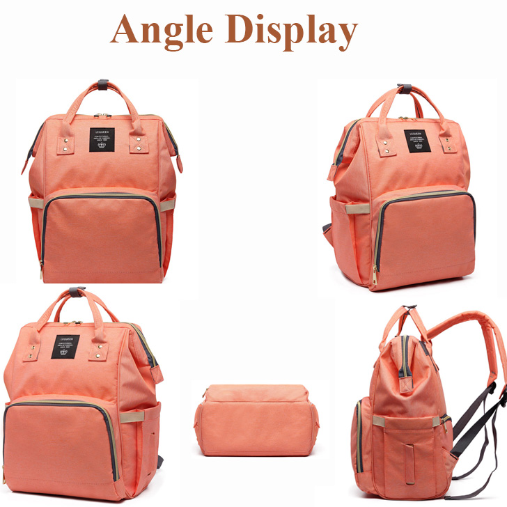 HTB1CPiCaRCw3KVjSZR0q6zcUpXaW Lequeen Fashion Mummy Maternity Nappy Bag Brand Large Capacity Baby Bag Travel Backpack Designer Nursing Bag for Baby Care