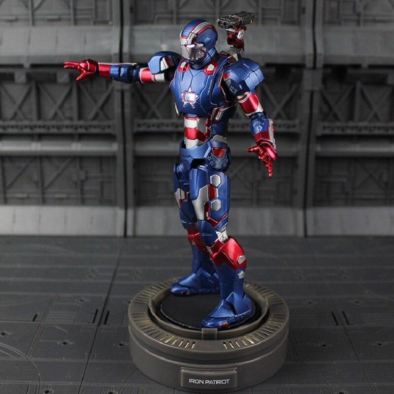 Marvel Avengers Iron Man 3 moulé sous pression jouer imaginatif Super alliage fer patriote Figure modèle jouet