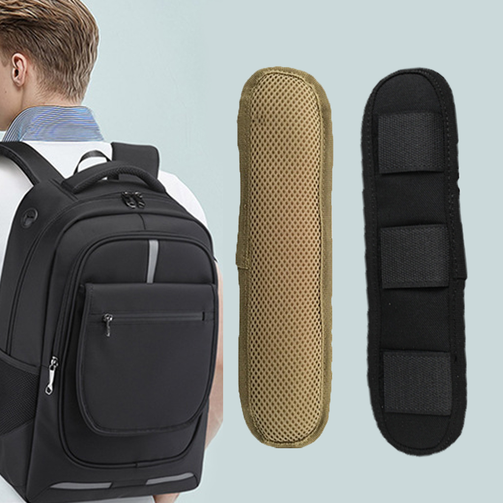 Anti Slip Backpack Shoulder Belt Stress Relief Tactical Practical Cushion Shoulder Pad Damping Wear Resistant Easy Install