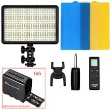 Godox LED308W 308 5600K LED Video Light Lamp for Sony Panasonic Canon Nikon DV Camcorder DSLR Camera